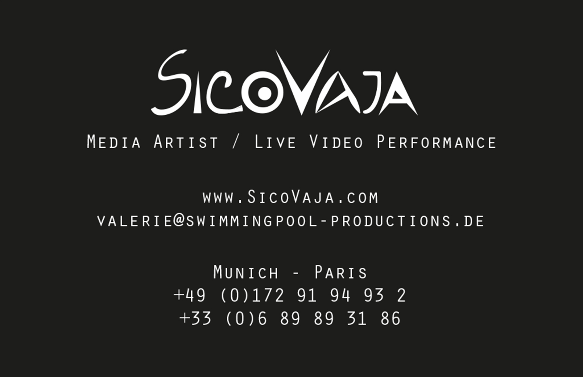 Sicovaja - valerie@swimmingpool-productions.de